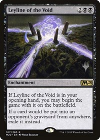 Leyline of the Void, Magic: The Gathering, Promo Pack: Core Set 2020