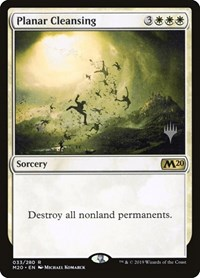 Planar Cleansing, Magic: The Gathering, Promo Pack: Core Set 2020