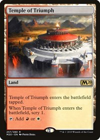 Temple of Triumph, Magic: The Gathering, Promo Pack: Core Set 2020