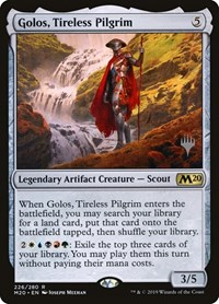 Golos, Tireless Pilgrim (Foil)