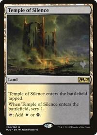 Temple of Silence Magic 2020 Core Set 2020 Magic the Gathering Unplayed