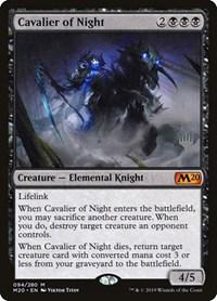 Cavalier of Night (Foil)