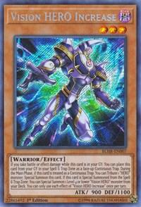 Vision HERO Increase, YuGiOh, Battles of Legend: Hero's Revenge
