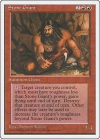 Stone Giant, Magic: The Gathering, Fourth Edition