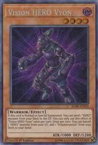 Vision HERO Vyon, YuGiOh, Battles of Legend: Hero's Revenge