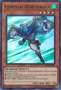 Elemental HERO Stratos, YuGiOh, Battles of Legend: Hero's Revenge