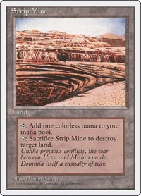 Strip Mine, Magic: The Gathering, Fourth Edition