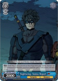 Nightwing Status Report Batman Ninja Weiss Schwarz Online Gaming Store For Cards Miniatures Singles Packs Booster Boxes