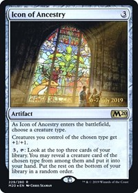 Icon of Ancestry, Magic, Prerelease Cards