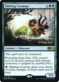 Shifting Ceratops, Magic, Prerelease Cards
