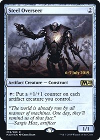 Steel Overseer, Magic: The Gathering, Prerelease Cards