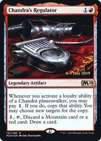 Chandra's Regulator, Magic: The Gathering, Prerelease Cards