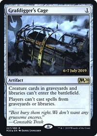 Grafdigger's Cage, Magic: The Gathering, Prerelease Cards