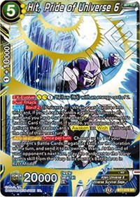 Hit Pride of Universe 6 BT7-079 SR Dragon Ball Super TCG NEAR MINT