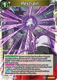 Restrain, Dragon Ball Super CCG, Assault of the Saiyans