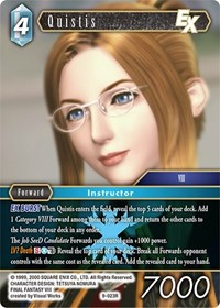 Legend Near Mint Final Fantasy TCG Opus IX Azure Dragon I/'/'Cie 9-028
