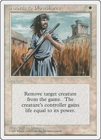 Swords to Plowshares, Magic: The Gathering, Fourth Edition