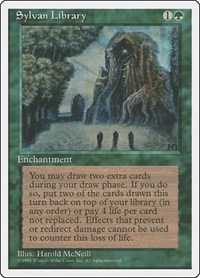 Sylvan Library, Magic: The Gathering, Fourth Edition