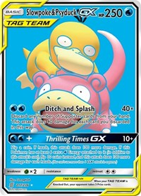 Slowpoke & Psyduck GX (Full Art), Pokemon, SM - Unified Minds