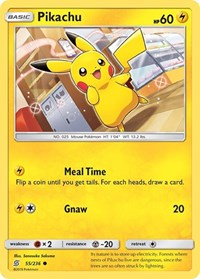 Pikachu (55), Pokemon, SM - Unified Minds