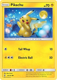 Pikachu (56), Pokemon, SM - Unified Minds