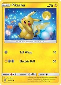 Pikachu (56), Pokemon, SM - Unified Minds