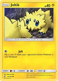 Joltik, Pokemon, SM - Unified Minds