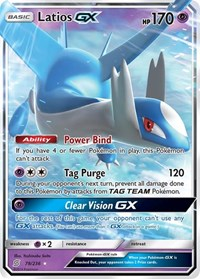Latios GX, Pokemon, SM - Unified Minds