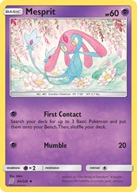 Mesprit, Pokemon, SM - Unified Minds