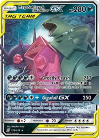 Mega Sableye & Tyranitar GX, Pokemon, SM - Unified Minds