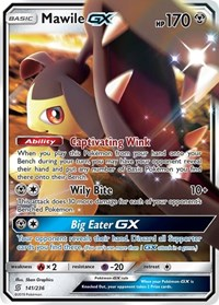Mawile GX, Pokemon, SM - Unified Minds