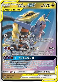 Garchomp & Giratina GX, Pokemon, SM - Unified Minds