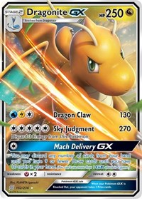 Dragonite GX, Pokemon, SM - Unified Minds