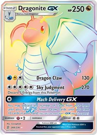 Dragonite GX (Secret), Pokemon, SM - Unified Minds