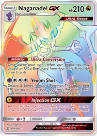 Naganadel GX (Secret), Pokemon, SM - Unified Minds