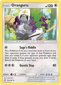 Oranguru, Pokemon, SM - Unified Minds