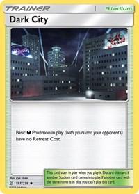 Dark City, Pokemon, SM - Unified Minds