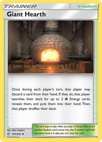 Giant Hearth, Pokemon, SM - Unified Minds