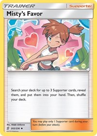 Misty's Favor, Pokemon, SM - Unified Minds