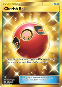 Cherish Ball (Secret), Pokemon, SM - Unified Minds