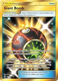 Giant Bomb (Secret), Pokemon, SM - Unified Minds