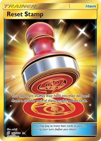 Reset Stamp (Secret), Pokemon, SM - Unified Minds