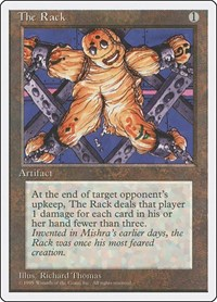 The Rack, Magic: The Gathering, Fourth Edition
