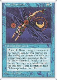 Time Elemental, Magic: The Gathering, Fourth Edition