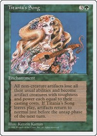 Titania's Song, Magic: The Gathering, Fourth Edition