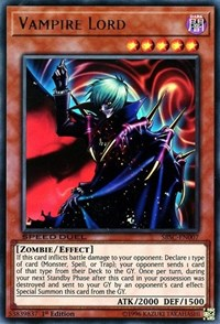 Vampire Lord, YuGiOh, Speed Duel: Scars of Battle