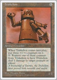 Triskelion, Magic: The Gathering, Fourth Edition