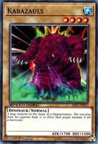 Kabazauls, YuGiOh, Speed Duel: Scars of Battle