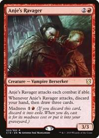 Anje's Ravager, Magic, Commander 2019