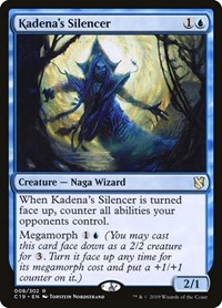Kadena's Silencer, Magic: The Gathering, Commander 2019